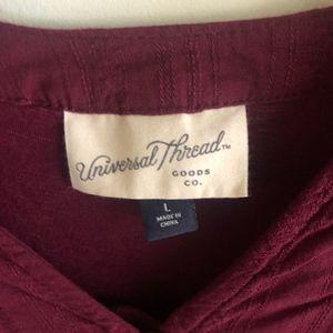 Universal Thread Tops - Universal Thread hi-lo tie top